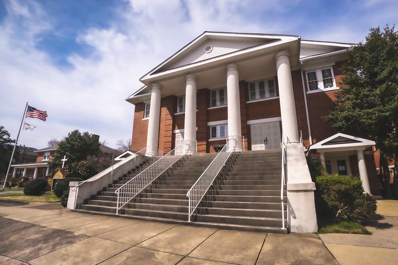First United Methodist Church in Fort Payne Alabama