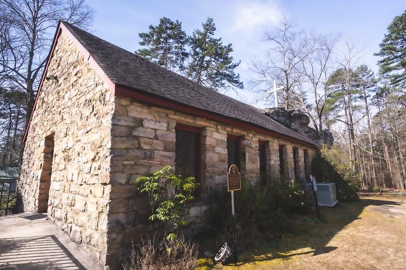 Sallie Howard Memorial Chapel in Mentone Alabama