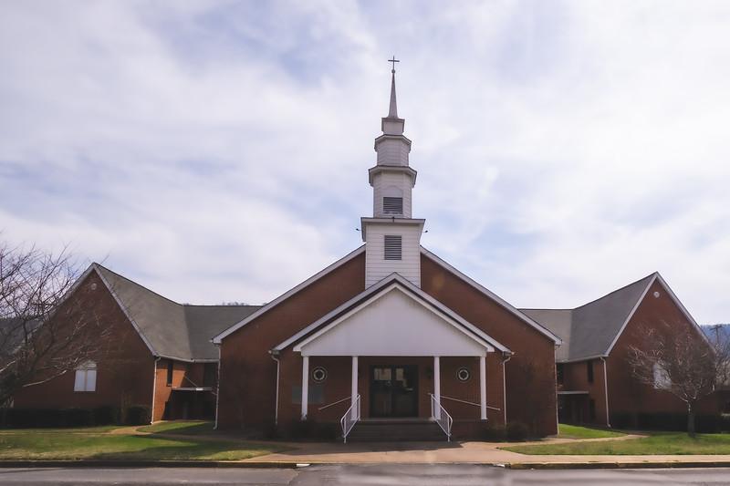 Second Baptist Church in Fort Payne Alabama