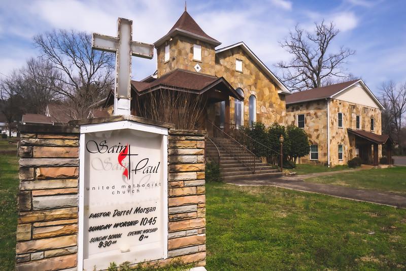 Saint Paul United Methodist Church in Fort Payne Alabama