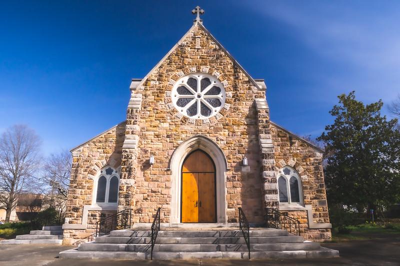 Grace Episcopal Church in Anniston Alabama