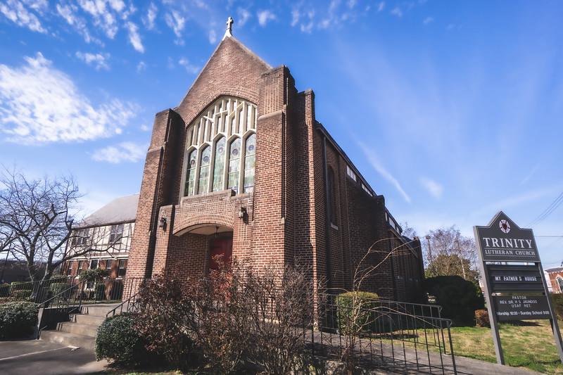 Trinity Lutheran Church in Anniston Alabama