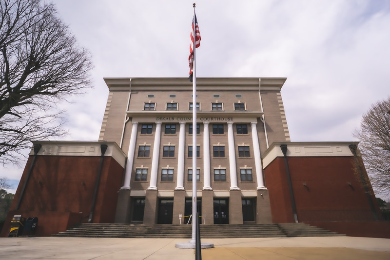 Dekalb County Alabama Courthouse in Fort Payne