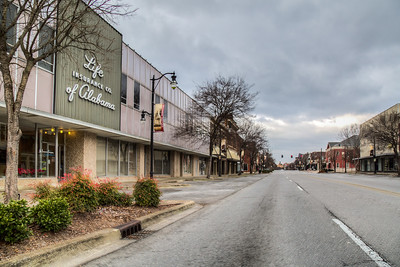 Broad St, Gadsden, Alabama, USA