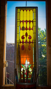 Stained Glass in the Window