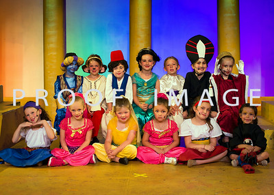 Aladdin - Wednesday Pre-Primary Magic Carpet Cast