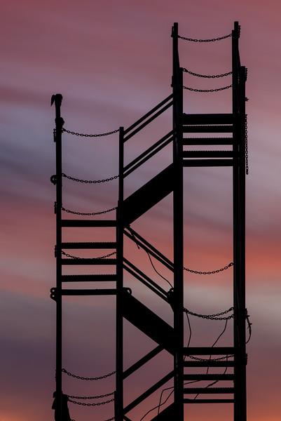 Dawn Stairway