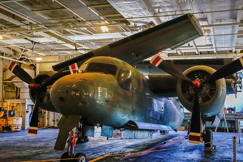 S-2A Tracker; 4 man crew