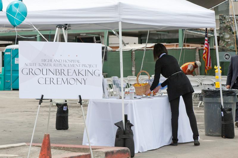 Groundbreaking Ceremony — June 2011