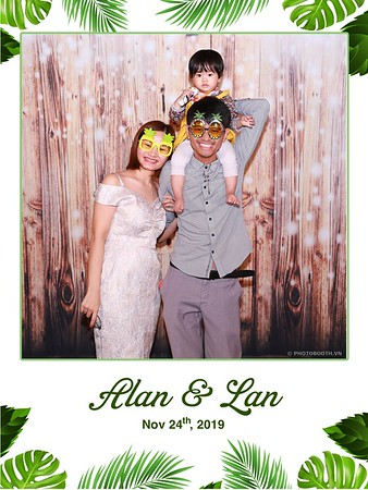 Alan & Lan Wedding @ SoftWater Restaurant Hanoi |wedding instant print photo booth in Hanoi | Chụp ảnh lấy ngay Tiệc cưới tại Hà Nội | Photobooth Hanoi