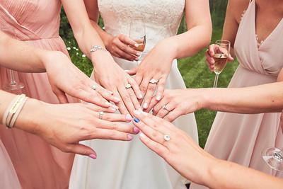Bridesmaids Pre-Ceremony