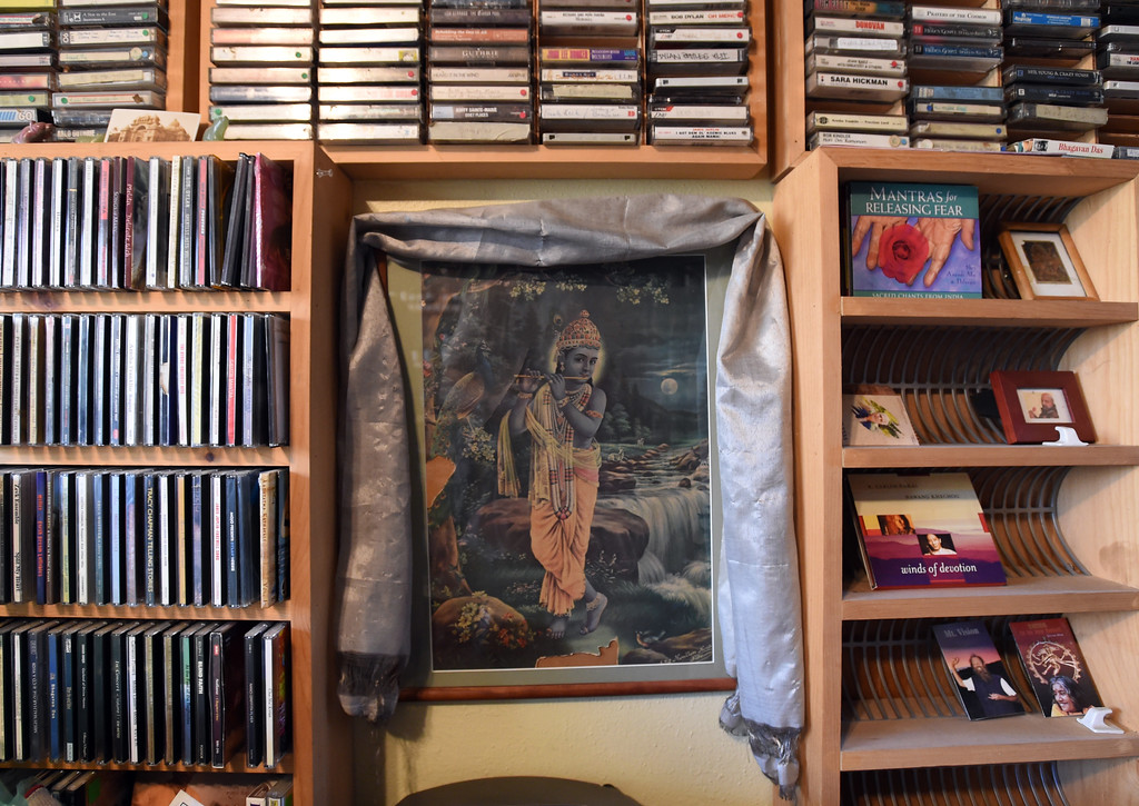 . Music choices  the at Alandi Ashram in Boulder. Alandi Ashram Ayurvedic Gurukula, Pharmacy and Clinic is an Ayurvedic school and clinic, headed by highly regarded British MD, has flown under the radar for more than 20 years. The school runs the only accredited Ayurvedic Doctor program in the nation, in addition to other lower levels of training. The student clinic is discounted for clients and they have an Ayurvedic pharmacy. Cliff Grassmick  Staff Photographer  February 22, 2017
