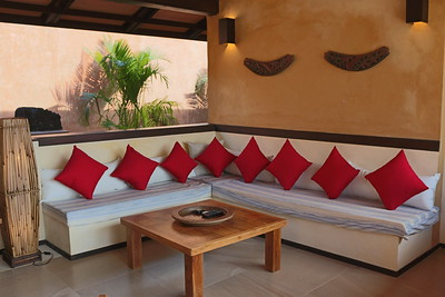 Alanta Villa Open Plan Lounge Klong Khong, Ko Lanta