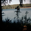 Bear Lake, British Columbia the next morning. (same view)<br /> July 11, 1958.