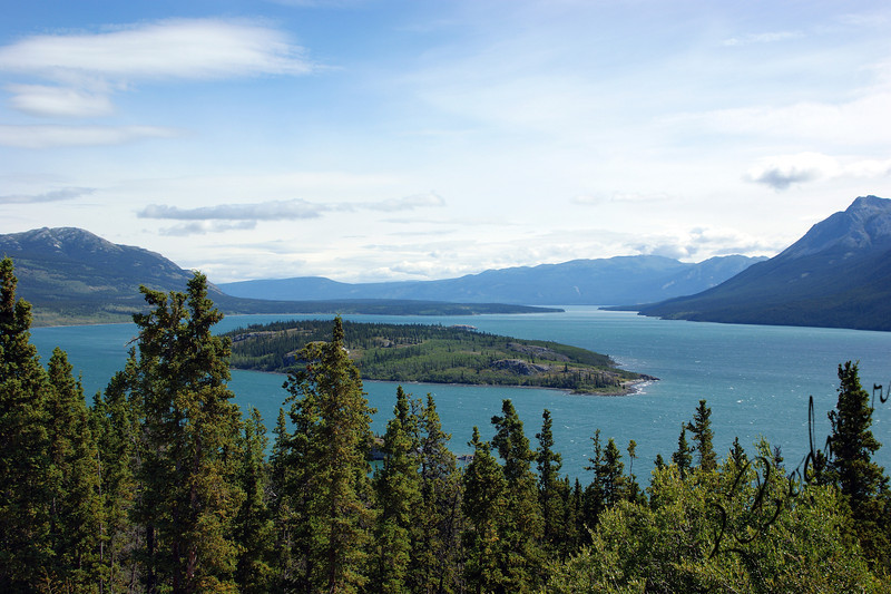 Photo By Robert Bodnar........View of Bove Island, Yukon