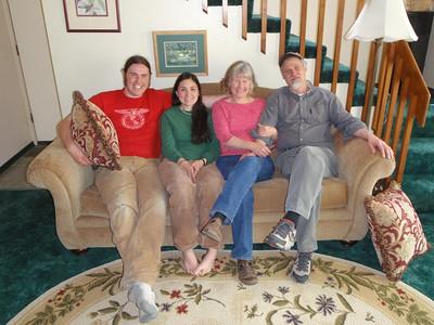 Caleb, Sabrina, Dede, and Gary