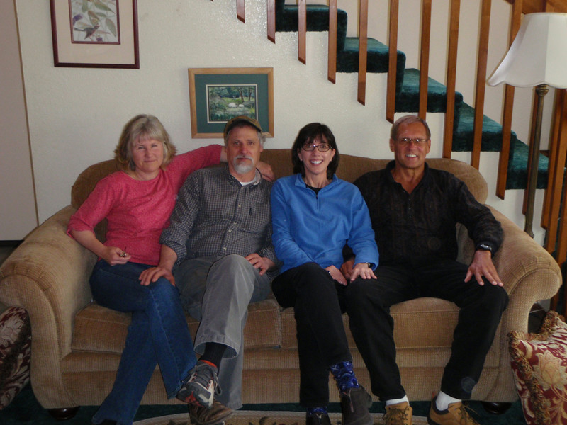 Dede, Gary, Jenny, and Dennis