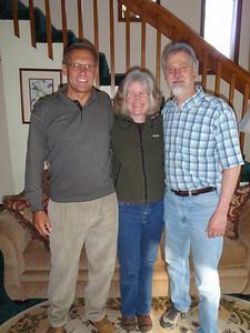 Dennis, Dede, and Gary