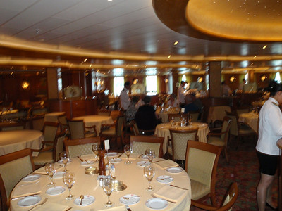 Cruise ship: International dining room