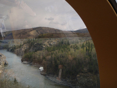 Train to Denali scenic view