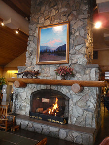 Accommodations: Mt. McKinley Princess Wilderness Lodge (interior main lodge)