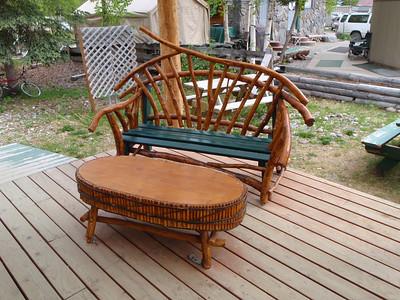 Talkeetna unique outdoor furniture
