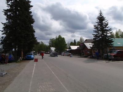 Main street Talkeetna