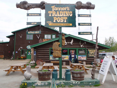 Dining: Lunch in Talkeetna from the Trading Post