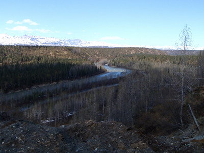 Train to Talkeetna scenic view