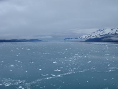 College Fjord scenic view