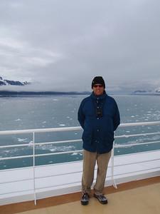 College Fjord scenic view: Dennis