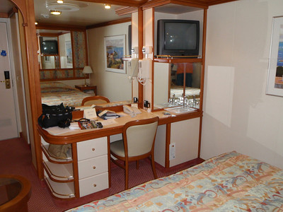 Accommodations: cruise ship cabin