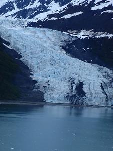 College Fjord scenic view: glacier