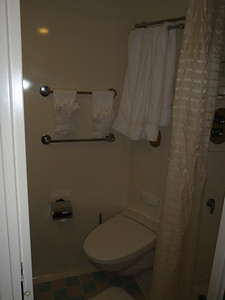 Accommodations: cruise ship cabin