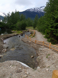 Skagway Self-guided tour: salmon hatchery stream