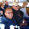 Kure Beach friends: Mo and Dennis on Gold Mine Tour
