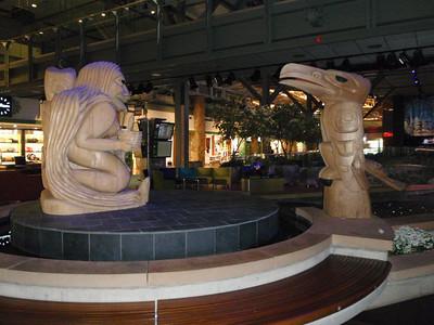Vancouver airport: artwork