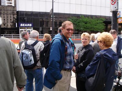 Vancouver Trolley Tour: Ron, Peg, Dennis, Julia, Charlotte