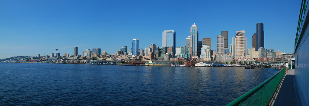Seattle Stepping off to Alaska