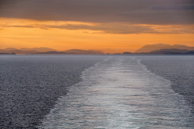 Sunrise, inside Passage