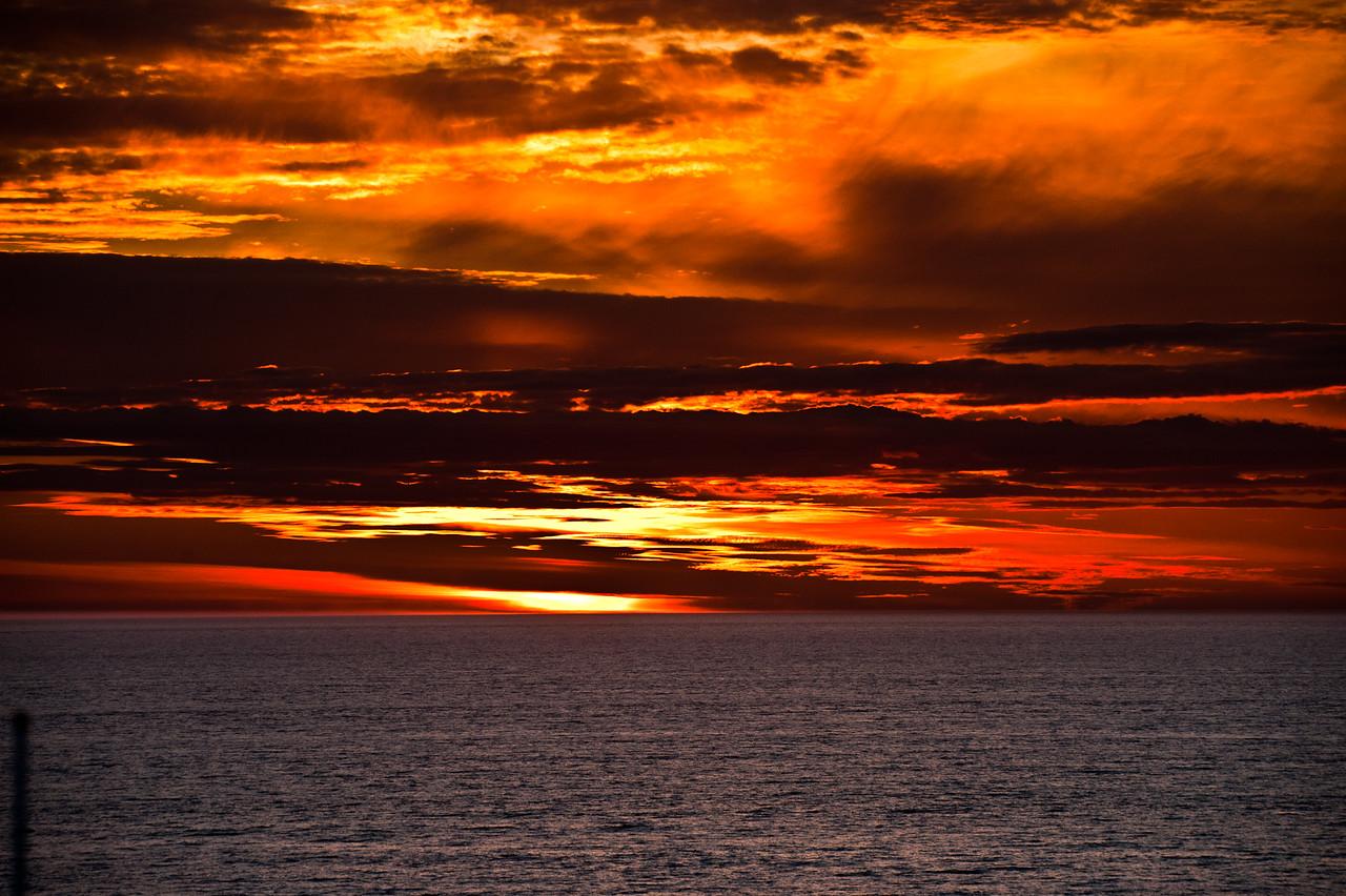 Sunset, Inside Passage
