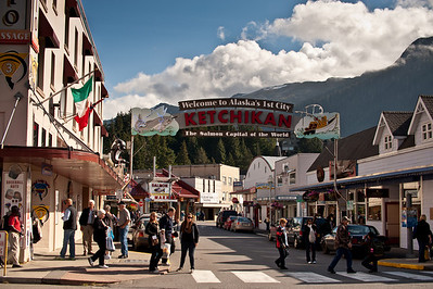 Downtown Ketchikan.