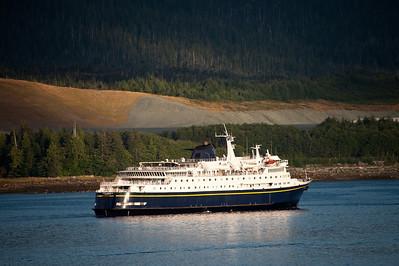 Alaskan ferry.