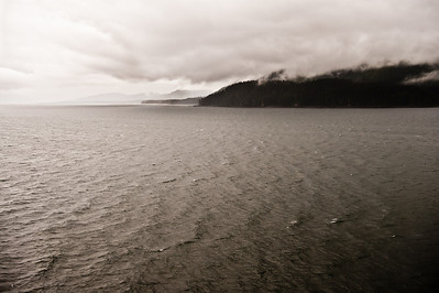 We sailed into the harbor at Hoonah.