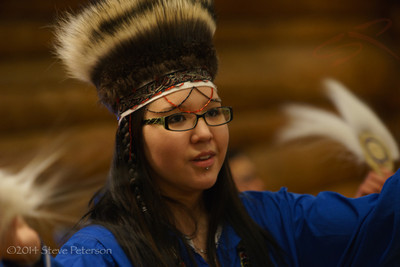 Alaska Outtakes--Native Dancer.