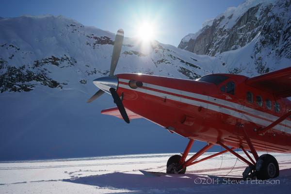 Alaska Outtakes--Glacier landing.