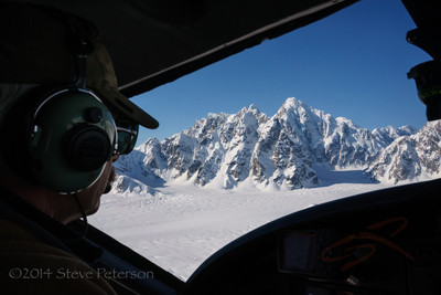 Alaska Outtakes--Flying over Denali 2.
