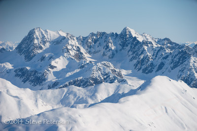 Alaska Outtakes--Flying over Denali 1.