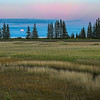 Moonrise Over Cook Inlet