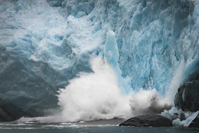 Calving Glacier 2